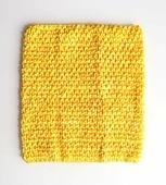 Топ-резинка, размер 23х20 см. Цвет Желтый.