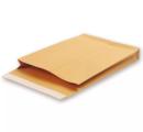 Крафт конверт E4 (300*400*40), стрип-лента, клапан прямой, боковое и донное расширение (ExtraPack). Конверты - в упаковке 250 шт.