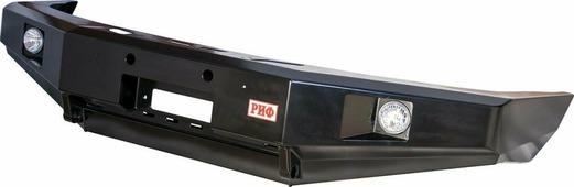Бампер передний усиленный без кенгурина РИФ УАЗ Патриот, в том числе с 2015 г.