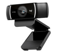 Веб-камера Logitech C922 Pro Stream (960-001088) (1920x1080, 2Mpx, USB, штатив)