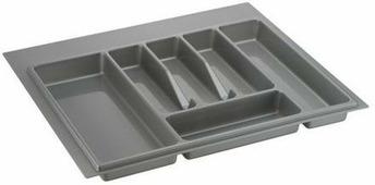 "Лоток для столовых приборов ""Lemax"", цвет: серый, 49 х 54 х 4,5 см"