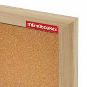 """Доска пробковая 50х100см в деревянной рамке """"memoboards"""""""