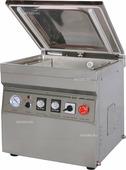 Упаковщик вакуумный Hualian HVC-400/2T-G (DZQ-400/2T) с опцией газонаполнения (нерж. сталь)