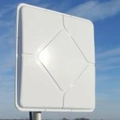 AX-2420P MIMO 2x2 панельная Антенна, Wi-Fi, 2.4ГГц, 20 дБ
