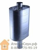 Бак для бани из нержавейки, 73 (на трубу D 115 мм)