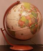 Глобус на деревянной подставке диаметр 37 см с подсветкой Nova Rico OPTIMUS 37 CM