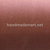 Атласная Лента Skroll, Ширина: 6 мм, Шоколад