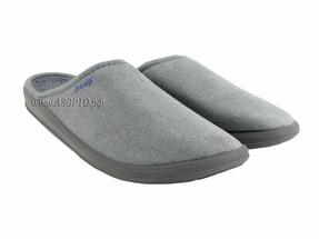 PU-01-01-85 ДрЛуиджи, Домашние ортопедические тапочки, сер, текстиль