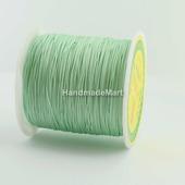 Шнур 0,5 мм, Нейлон, Зеленый светлый