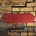"""Подложка четырехместная деревянная """"Царский Стиль"""" ASR-80410, цвет: красный"""
