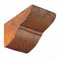 Консоль для декоративной балки Decosa Рустик Дуб светлый, 120х120мм