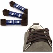 Шнурки Saphir (плоские, 10мм) (Цвет-05 Темно-коричневый Размер-180 см)