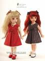 Комплект Iplehouse Tiffany (Тиффани красный для кукол Иплхаус 26 см)