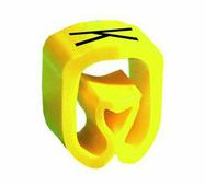 """Маркер закрытого профиля Partex PA-02 на провод 0.2-1.5 мм², символ """"K"""", желтый/черный (катушка 1000 шт.) {PA-..."""
