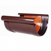Соединитель водосточного желоба Profil 130 D-130, Коричневый
