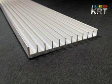 Радиаторный алюминиевый профиль 95х13мм