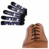 Вощеные шнурки Saphir (круглые, тонкие) (Цвет-01 Черный Размер-60 см)