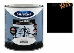 Эмаль SNIEZKA Na Rdze Mlo,чёрный, 0,65л, в шт