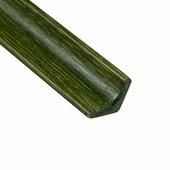 Планка плинтус D 05-04, цвет зеленый, L=1,85м.