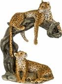 Статуэтка Lefard Леопард, 272-238, желтый, 28 х 17 х 35 см