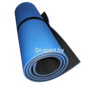 Коврик (пенка) гимнастический/туристический 8*0.6L1.8 синий/антрацит