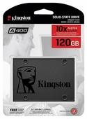 "Жесткий диск SSD 120Gb Kingston A400 (SA400S37/120G) (SATA-6Gb, 2.5"", 500/350Mb/s)"