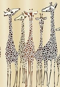 Шторка для ванной комнаты Iddis Safari Friends