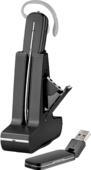 Plantronics PL-W445M (203949-01) - Беспроводная DECT гарнитура для компьютера оптимизированная для MOC/Lync (Microsoft)