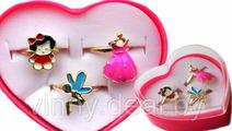 Набор колечек для девочки Арт. 489824