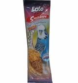 Lolo Pets Smakers медовый для волнистых попугаев WEEKEND STYLE 45г