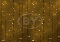 Светодиодная занавес Neon-night 2*1.5 м желтый, белый ПВХ
