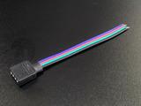 Коннектор с разъемом 4PIN для подключения к RGB контроллеру