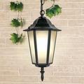 Уличный подвесной светильник 1004 1004H черный (GL 1004H)