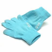 Сенсорные перчатки iGlove для работы с емкостными экранами iPhone , iPad , Samsung голубые
