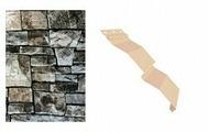 Сайдинг наружный металлический МеталлПрофиль Корабельная доска Белый камень 4м