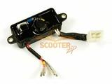 Блок AVR (регулятор напряжения) 3 КВт для генератора CHAMPION GG2700, GG3300, GG3500BS/DG2200 (1 колодка 4 провода) 3КВт