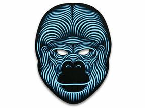 Cветовая маска с датчиком звука GeekMask King