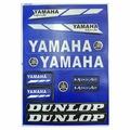 Наклейки TB Yamaha Dunlop blue A4