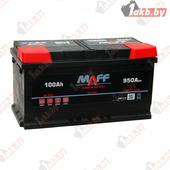 Автомобильный аккумулятор MAFF Premium (100 A/h), 950А R+
