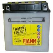 Аккумулятор для мотоциклов и скутеров FIAMM 12N10-3A (10 A/h), 100A R+