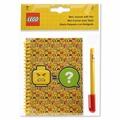 LEGO Блокнот на спирали с ручкой 51144 Смайлик 100 листов в линейку