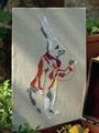 Электронная выкройка Burda - Схема вышивки «Следуй за белым кроликом» 47