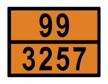 Моспромзнак Табличка опасный груз 99-3257