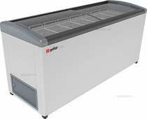Ларь морозильный Frostor GELLAR FG 700 E серый