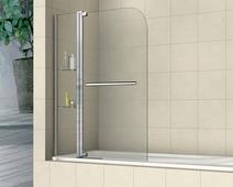Стеклянная шторка для ванны RGW SC-04 110 см