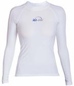Женская гидромайка с длинными рукавами iQ Uv Shirt Watersport L/s White