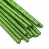 Термоклей 7мм, зеленый