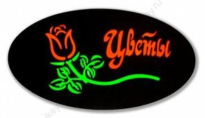 Эпоксидная табличка «Цветы» (СТЕ002)