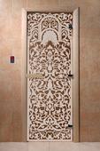 """Дверь для сауны Doorwood серия """"Флоренция"""" бронза"""