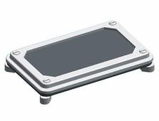Сальниковые панели ZW 54 фланец из пористой резины для шкафов типа W, ХА ABB